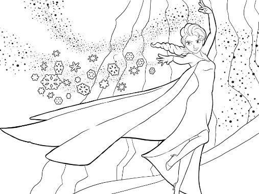 Dibujos para colorear congelados gratis | Coloring Board | Pinterest ...