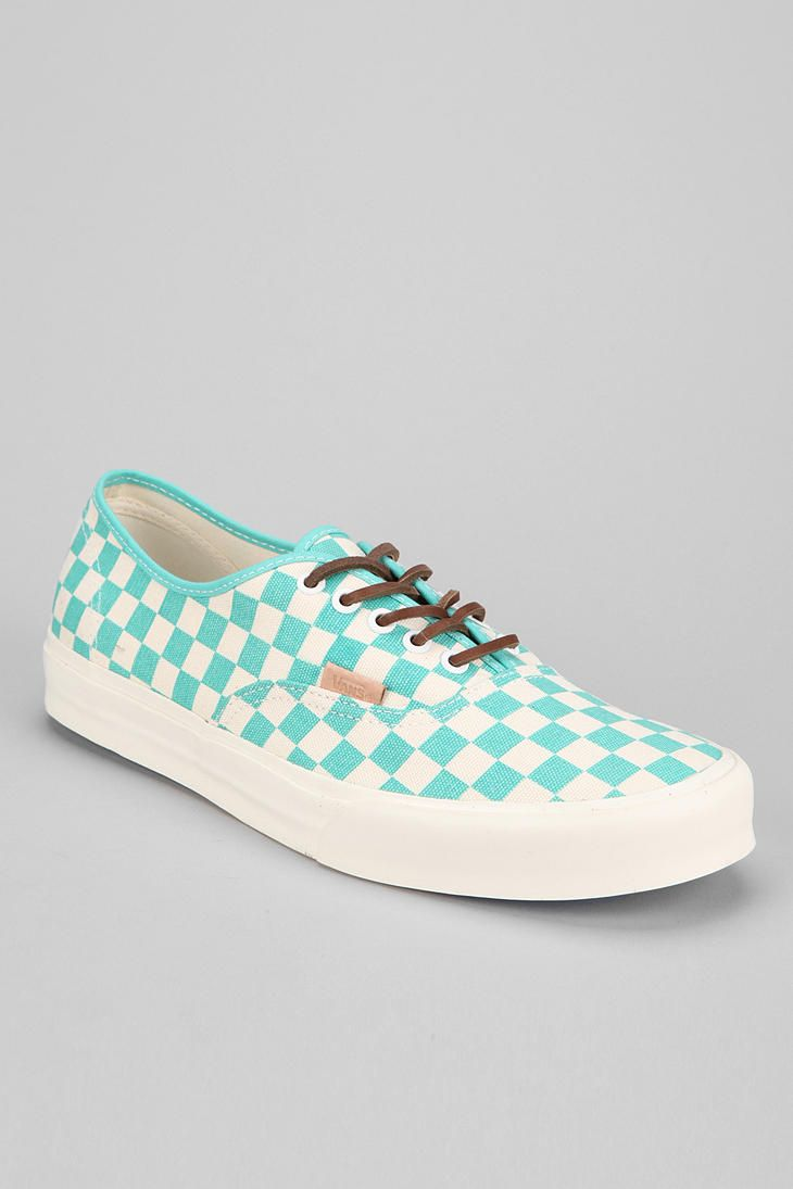 Vans CA Authentic Checker Sneaker #urbanoutfitters