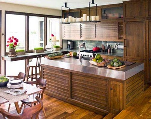 Ordinaire Amazing Ideas To Decorate A Modern Asian Kitchen   Interior Design   Modern  Kitchens Are Characterized By Their Simple And Sleek Look In Addition To  Their ...