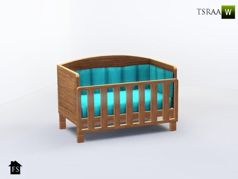 fantasticSims\' FS Sweetheart Nursery Crib | Sims 3 | Pinterest ...