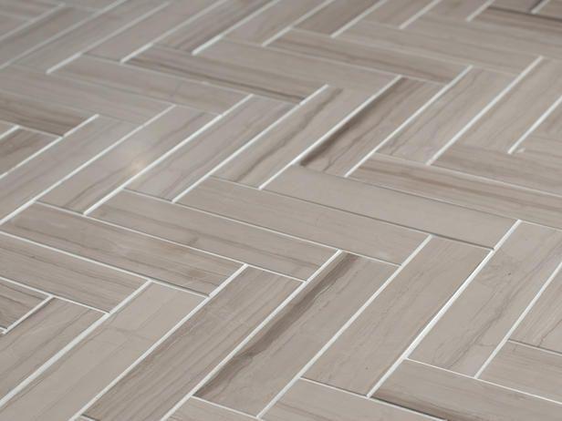 Herringbone Floor Tile Pattern Marble