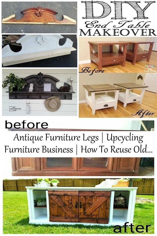 Antique Furniture Legs Upcycling Furniture Business