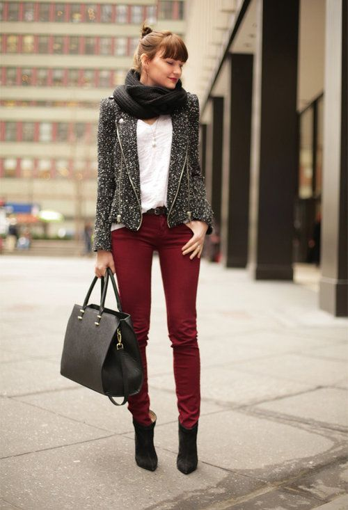 Never Out Of Style | Belle Burgundy