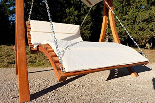 design h ngeliege doppelliege hollywoodliege doppelliege aus holz l rche modell 39 aruba lounger. Black Bedroom Furniture Sets. Home Design Ideas