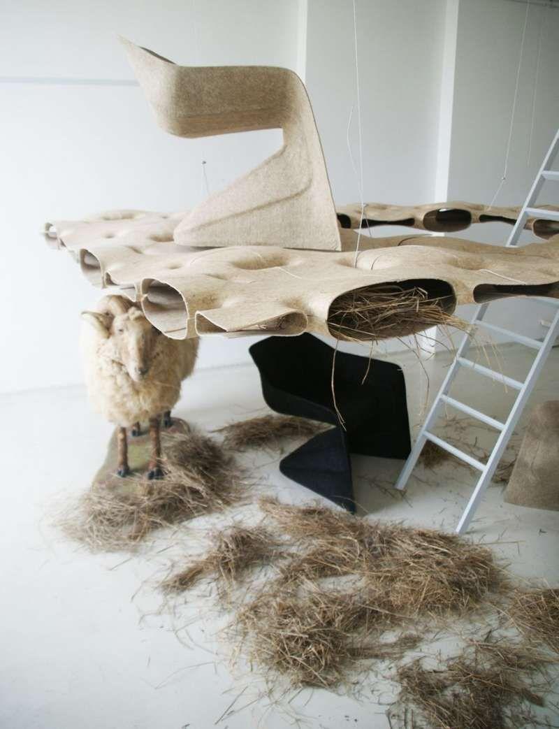 Natural Fiber Furniture : Hemp Chair