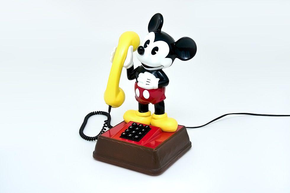 Kolekcjonerski Telefon Z Lat 70 Mickey Mouse 3587880375 Oficjalne Archiwum Allegro Mickey Mouse Mickey Mouse