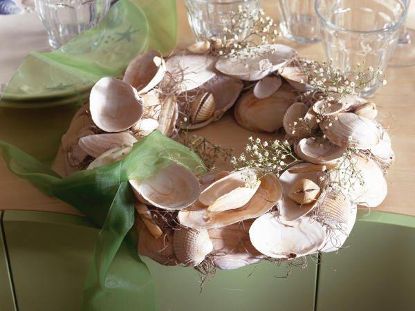 Muscheln, Steine \ Co Wir basteln mit Fundstücken der Natur - wohnideen selbermachen weihnachten