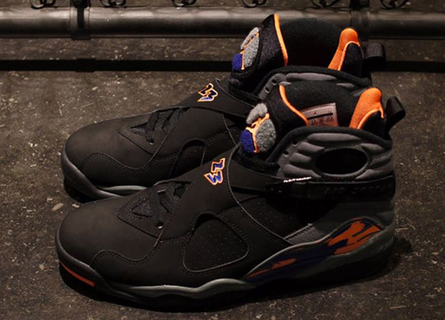 "Custom ""Phoenix Suns"" Air Jordan 8 Retros Ⓙ ⍣∙₩ѧŁҝ!₦ǥ∙⍣ 0b92b4b33"