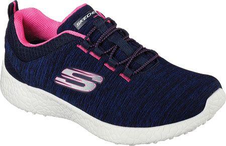 Skechers Womens Energy Burst Equinox Bungee Lace Shoe 12431