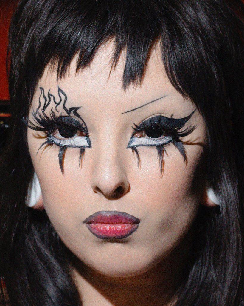 Lowrider Angels Spring, Creative makeup, Angel