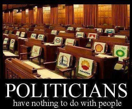 They really don't care about us. We need to dump all of them and start from scratch with term limits, big time campaign reform and citizen watchdogs!