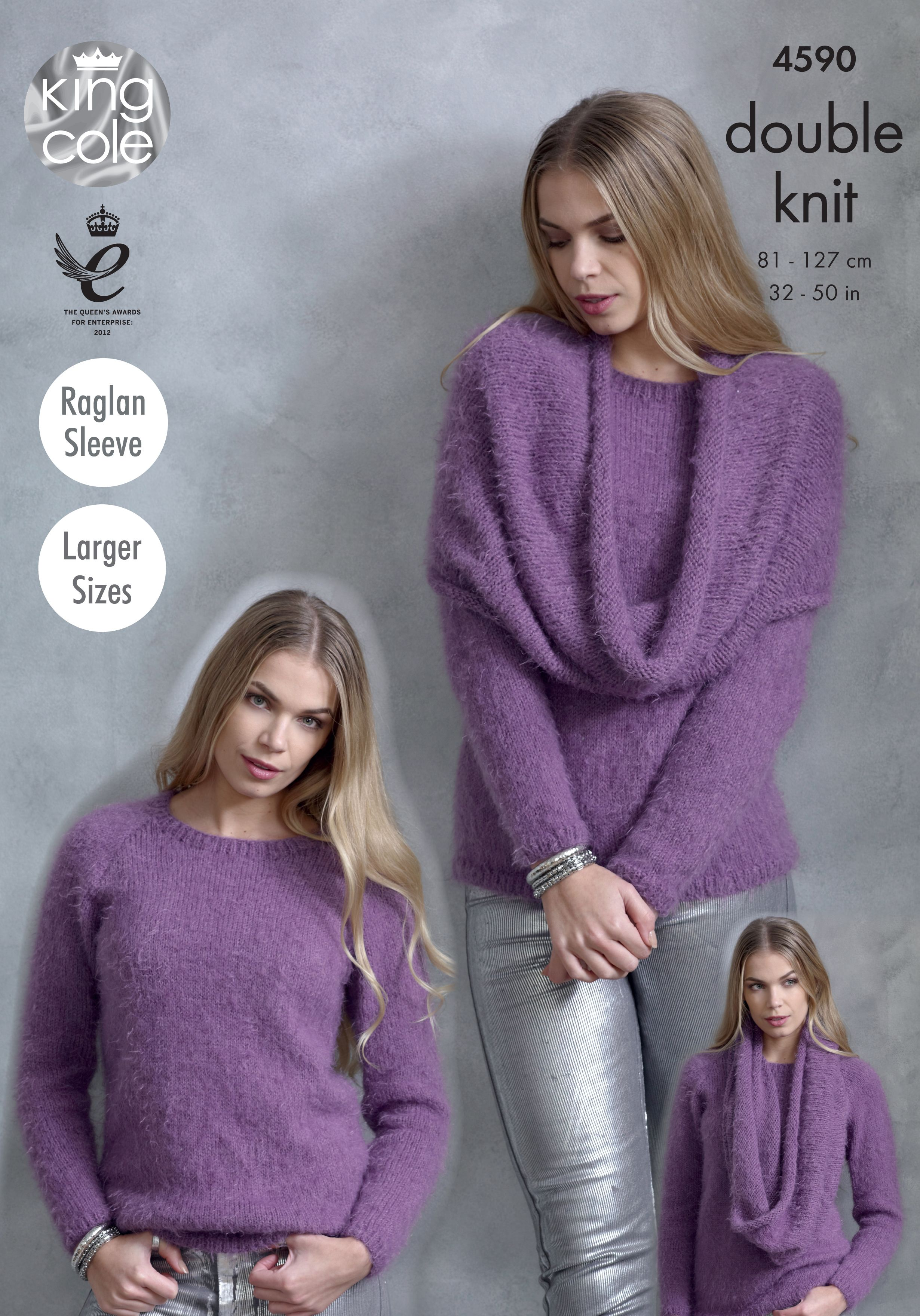 Knitted sweater poncho snood king cole embrace pinterest sweaters poncho snood knitted with embrace dk king cole bankloansurffo Images