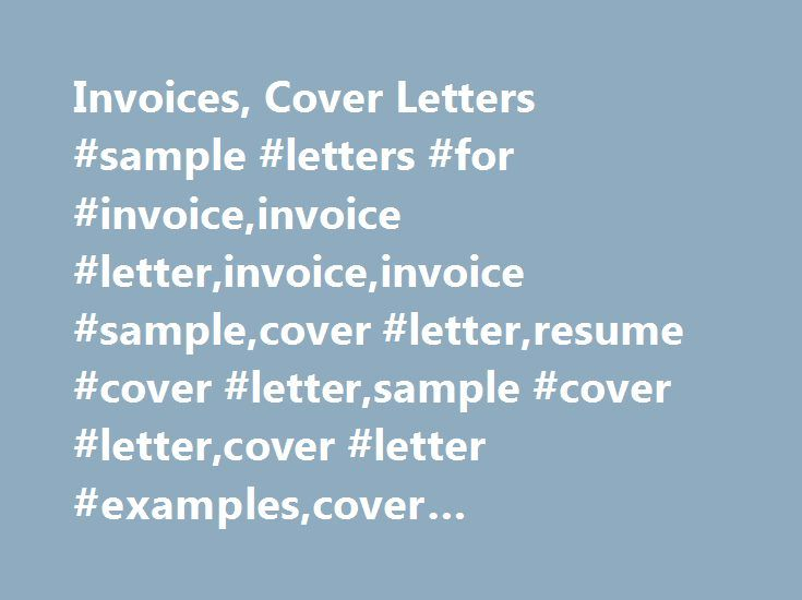 Invoices, Cover Letters #sample #letters #for #invoice,invoice - what is invoice
