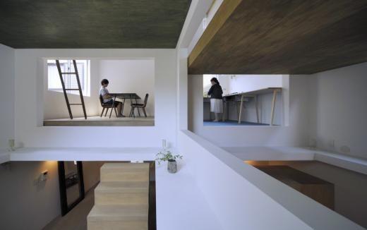 Wohnen In Tokio ein haus ohne treppen in tokio kann wie ein wohnen