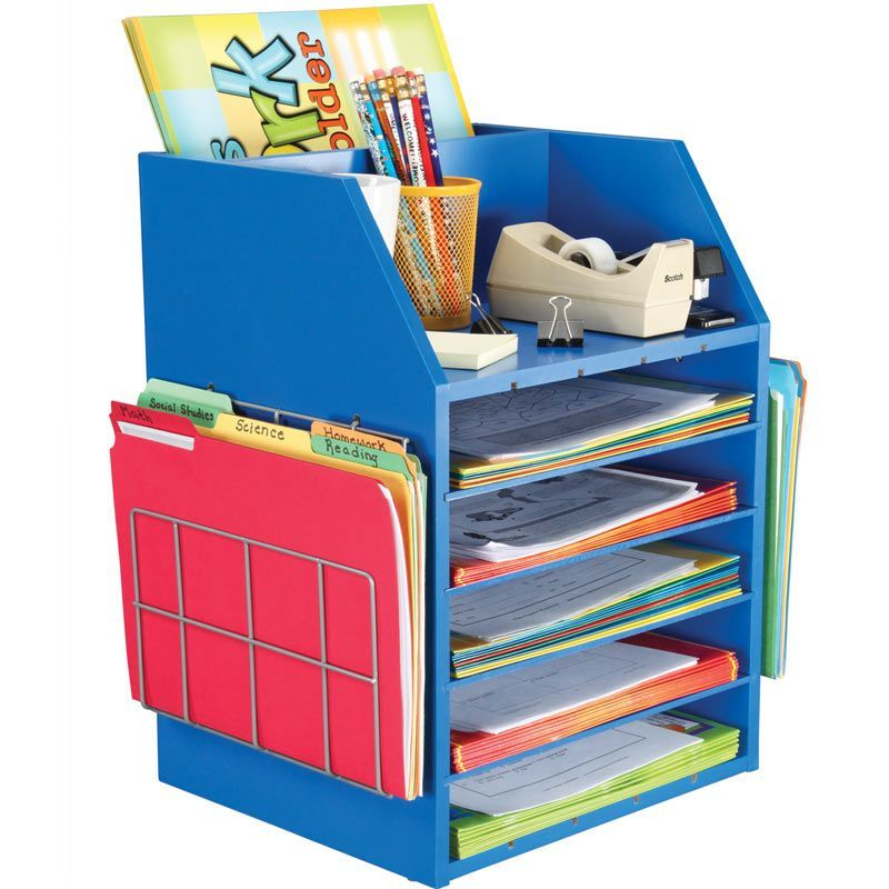 Science Classroom Design Ideas: Really Good Teacher's Desktop Organizer™ With Paper