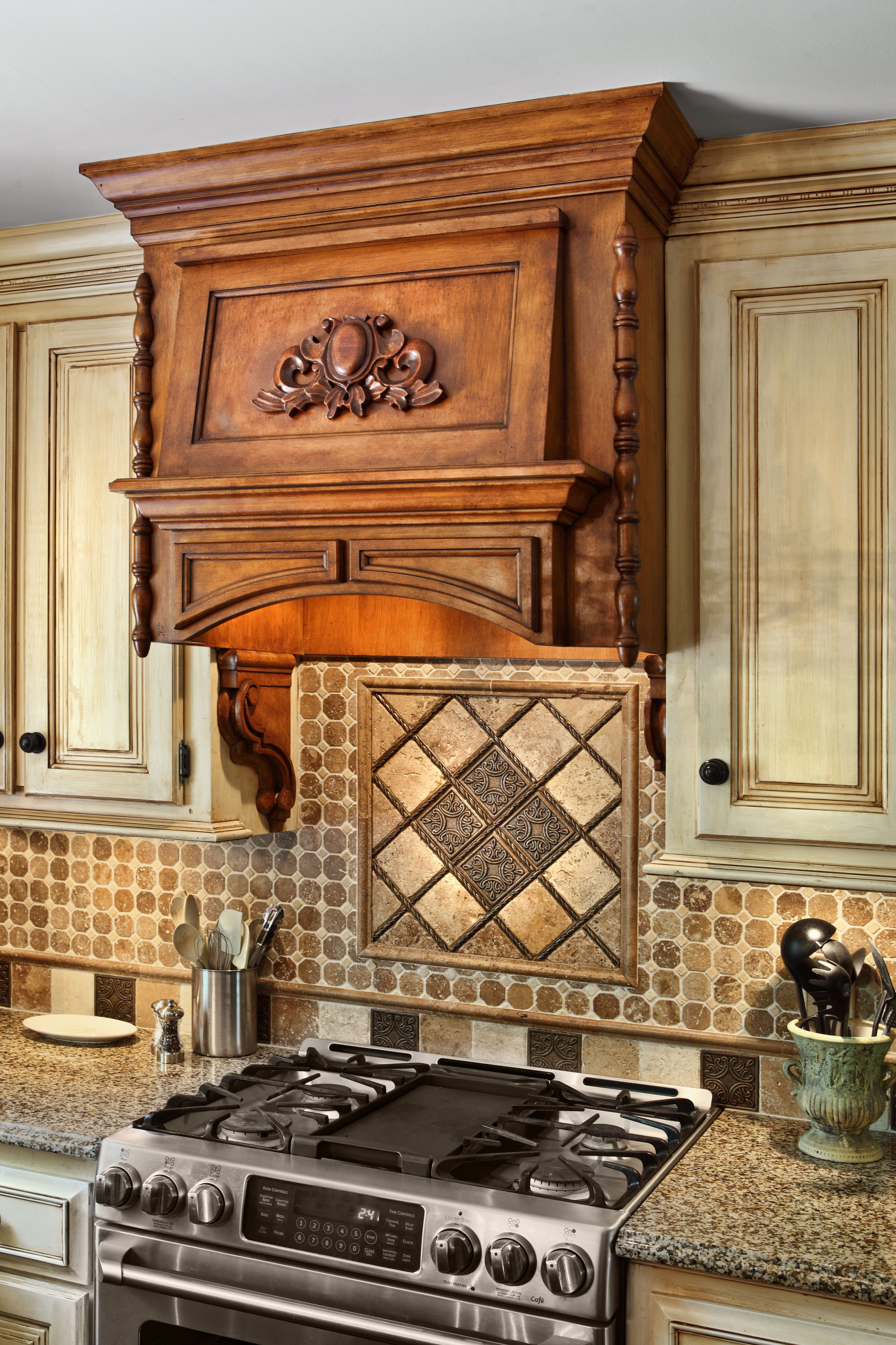 Lovely Valerie Garrett Interior Design. Macon, Georgia. Kitchen Backsplash