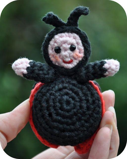 Lieveheersbeestje Haken Crochet Pinterest Haken Gehaakte