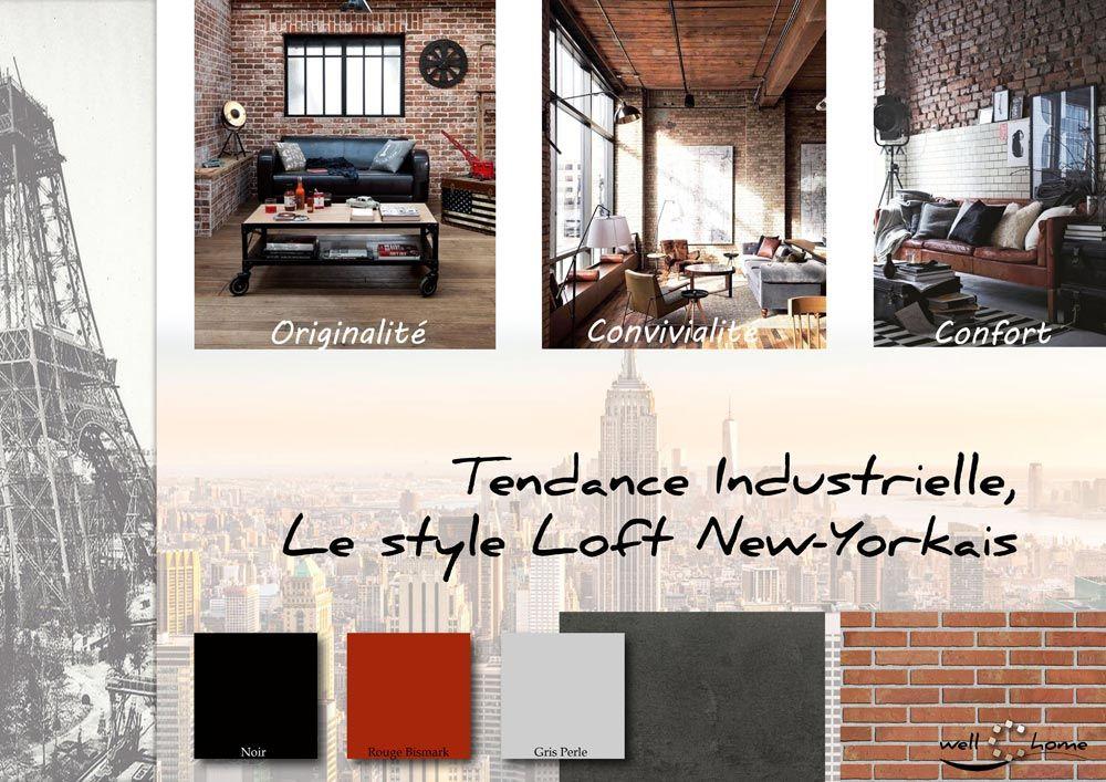 4 Industrielle Loft New Yorkais Tous Les Styles Deco Loft