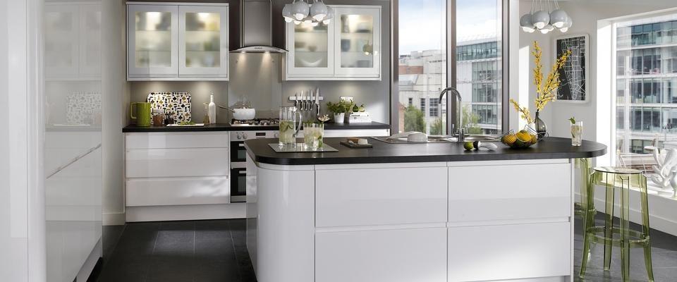 Kitchen trends 2014 - High Gloss Cabinets Home Style \ Furniture - apothekerschrank für küche