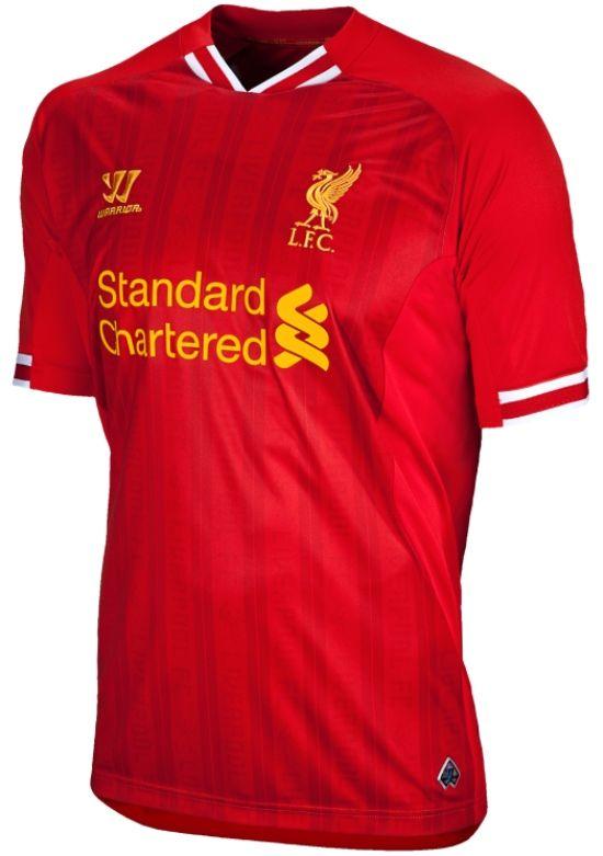 Premier League Shirts - 2013 14 - Liverpool Home Camisas De Times 9630181eb6277