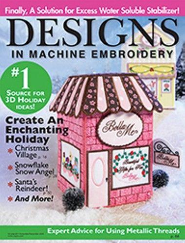 Designs In Machine Embroidery Magazine 65 Ebay Gift Basket Ideas