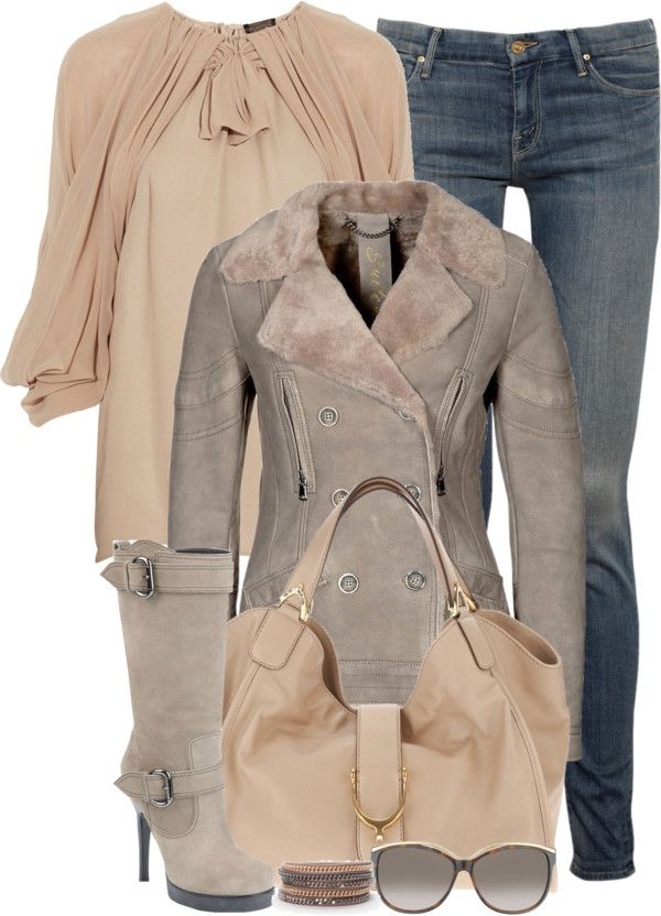 """""""Leather Jacket (II)"""" by partywithgatsby ❤ liked on Polyvore"""