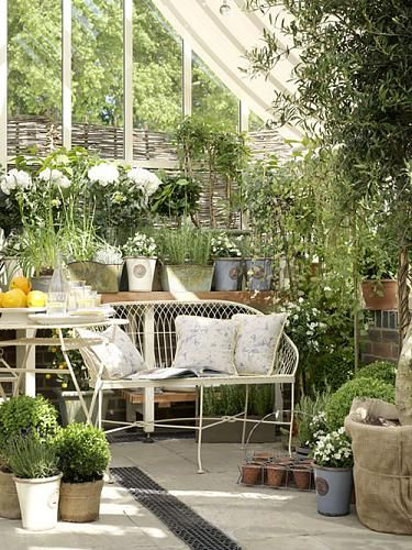the best ideas for an industrial garden with a vintage style! take