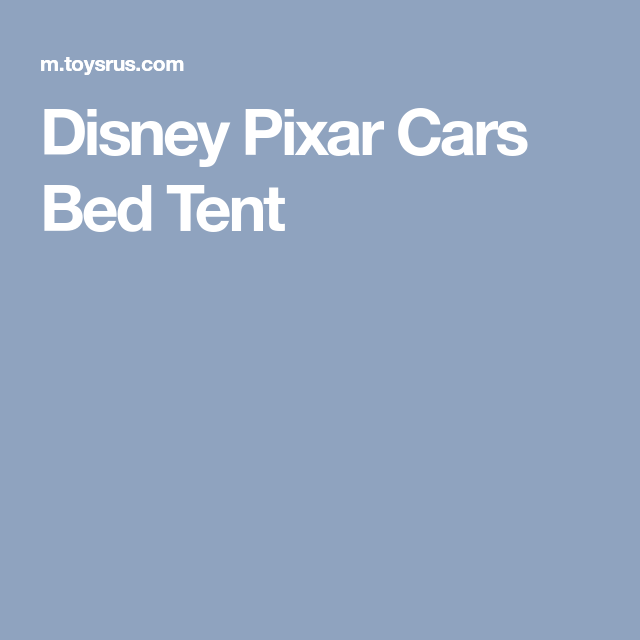 Disney Pixar Cars Bed Tent  sc 1 st  Pinterest & Disney Pixar Cars Bed Tent | Christmas 2017 | Pinterest | Disney ...