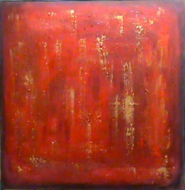 Intrepid Red Acrylic painting by Pam Carr | Artfinder