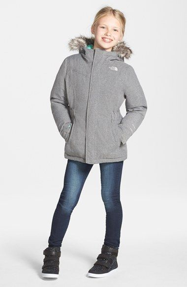 0be1fd74b4 The North Face 'Greenland' Waterproof 550-Fill Down Jacket (Toddler Girls &  Little Girls) | Nordstrom