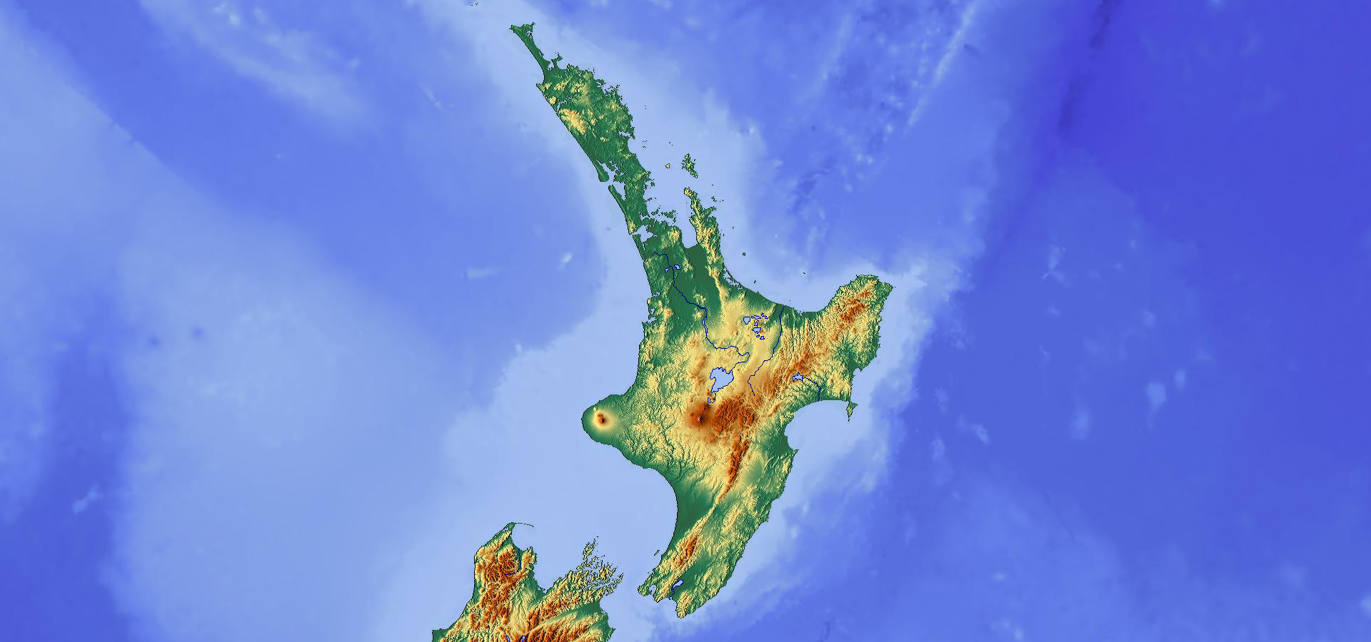 Topographic Map Of New Zealand.Topographic Map Of North Island New Zealand Maps Australia Map