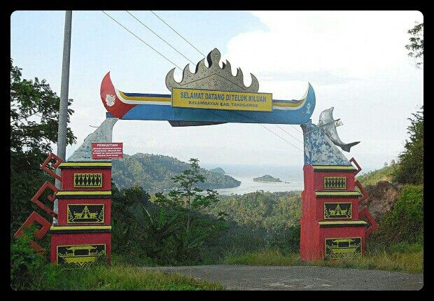 Kiluan welcome gate