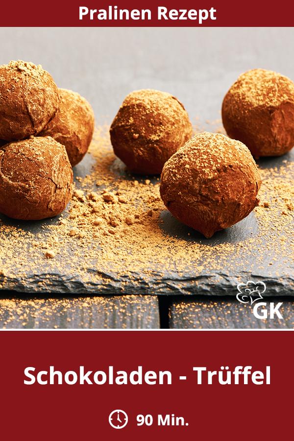 Schokoladen Truffel Rezept Rund Ums Kochen Pralinen