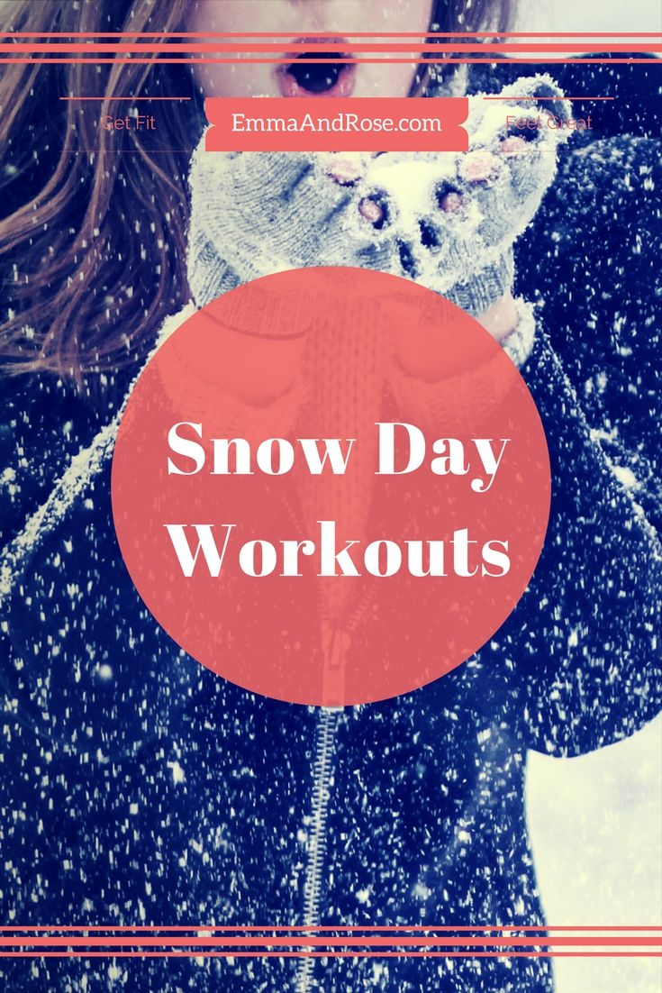 Stuck At Home On A Snow Day We Re Getting 8 Inches Here In Ma And Hurricane Stella Is Hitting Other States With Much More Don T Workout Fun Workouts Fitness