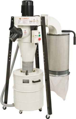 Save $ 81 order now Shop Fox W1823 Portable Cyclone Dust Collector at Power Tool