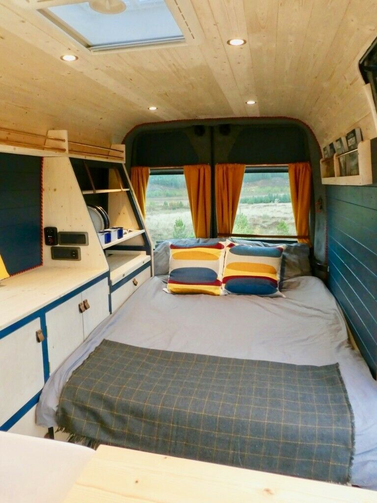 Bespoke Campervan. Vauxhall Movano in Inverness
