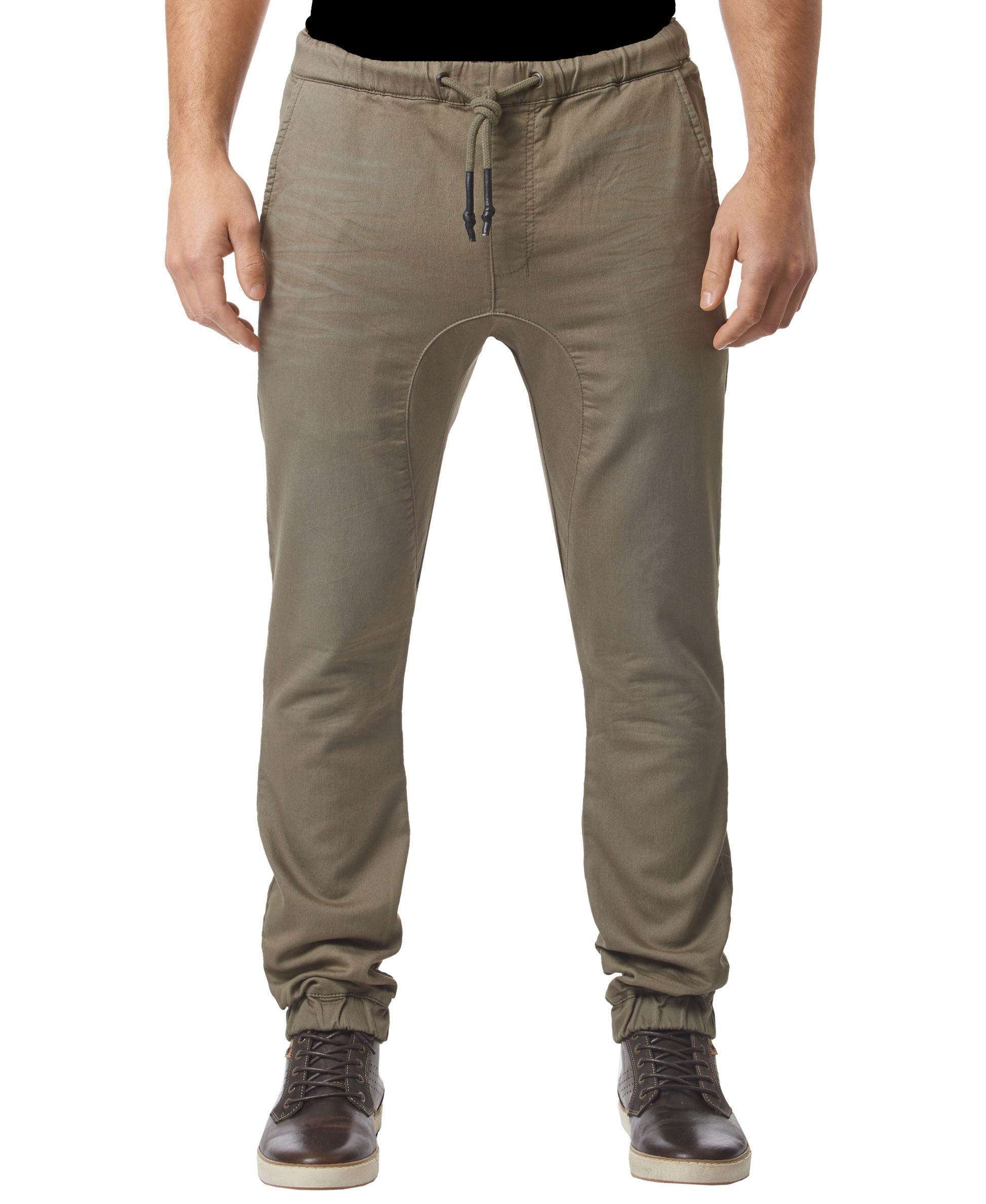 Buffalo David Bitton Zoltan-x Dropped-Crotch Jogger Pants