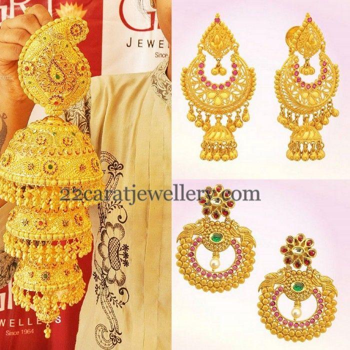 GRT Gold Trendy Earrings Show