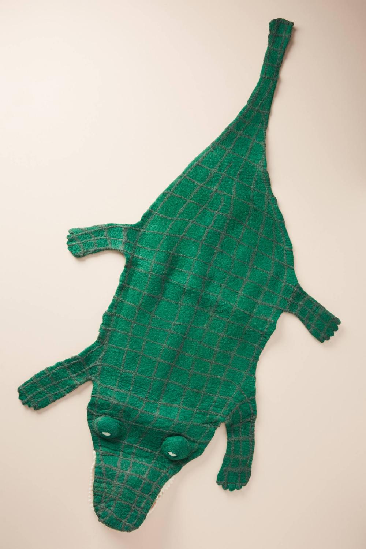 Crocodile Rug In 2020 Crocodile Functional Decor Alligator Nursery