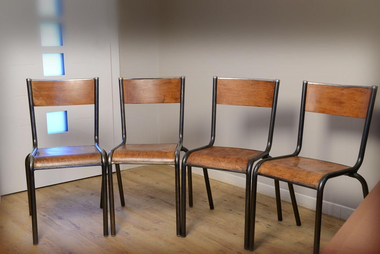 Chaise D École Mullca rénovation d'une chaise d'école mullca 510 - indus home