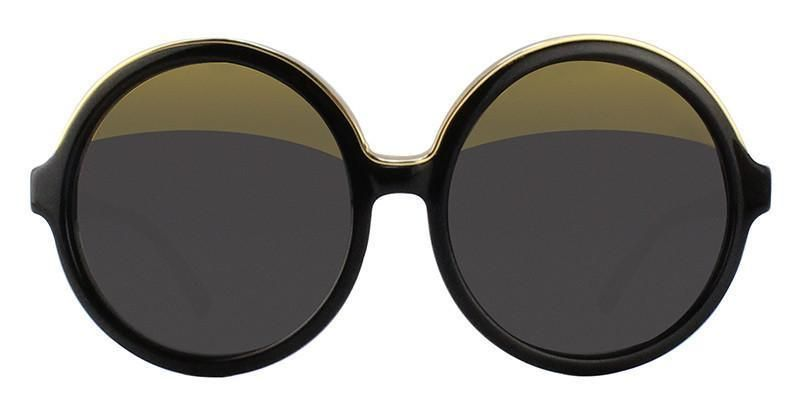 b67e411c82e Linda Farrow - N21 Black - Yellow Grey sunglasses