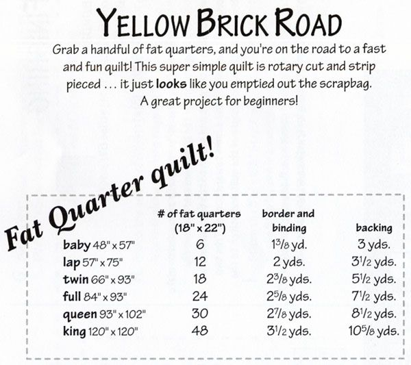 road to kansas quilt pattern | Road Free Quilt Pattern – Catalog ... : yellow brick road quilt pattern pdf - Adamdwight.com