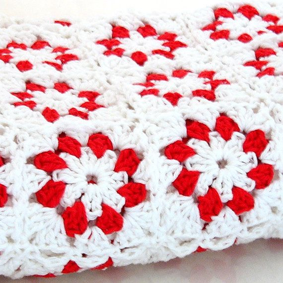 Granny circle square blanket - 8 (no pattern) | Crochet-Granny ...