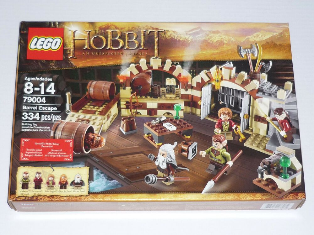 Lego Lord Of The Rings The Hobbit 79004 Barrel Escape Mib New