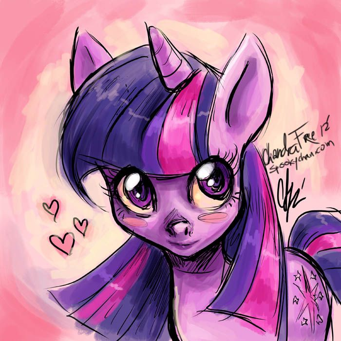 Twilight Sparkle done by Chandra Free www.spookychan.com