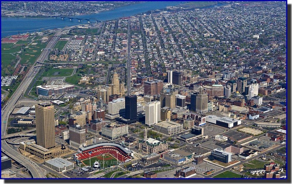 Aerial View Of Buffalo Ny Usa Buffalo New York City Buffalo