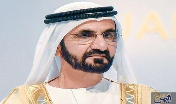 محمد بن راشد يتسل م رسالة من مبعوث أمير الكويت