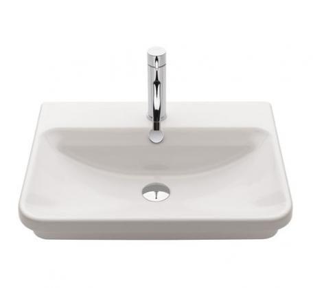 Gala Emma Square Basin 550mm X 420mm Basin Wash Basin Bathroom Items