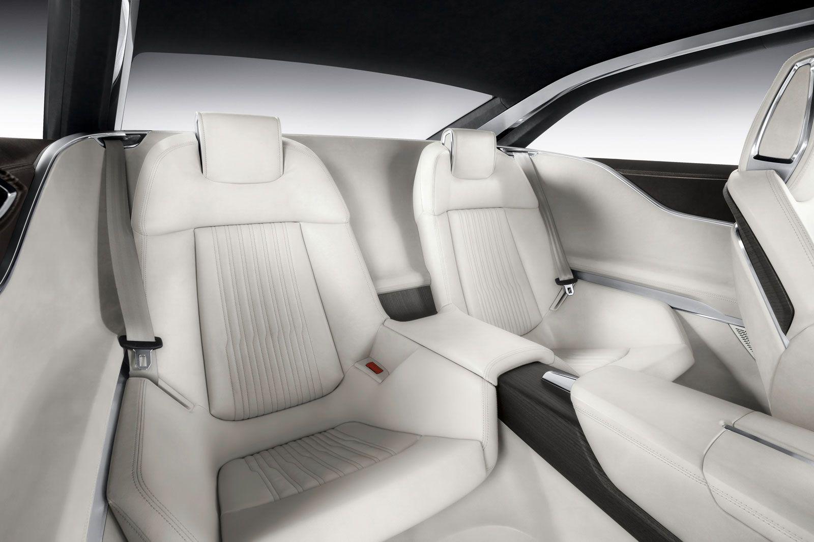 Audi Prologue Concept Interior Rear Seats Concept Car Design Car