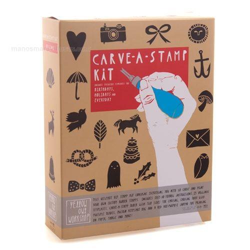 Kit Carvado de sellos